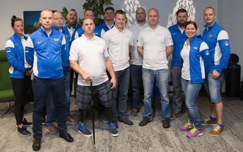 Эстонская сборная отправилась в Торонто на игры Invictus