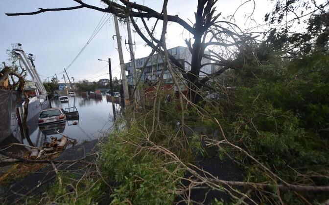 Orkaan Maria tagajärjed Puerto Ricos.