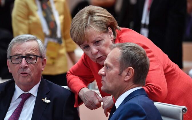 Tallinnasse tuleku on kinnitanud nii Jean-Claude Juncker, Angel Merkel kui Donald Tusk.