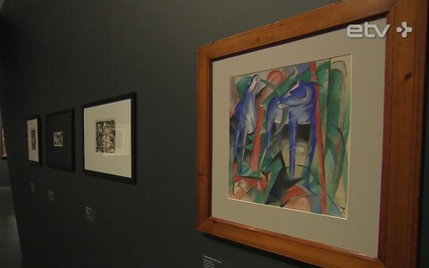Выставка немецких экпрессионистов в KUMU