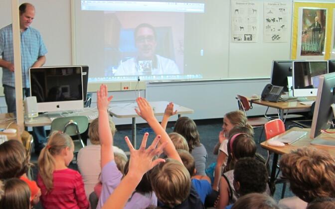 В школах Эстонии пройдут гостевые уроки онлайн.