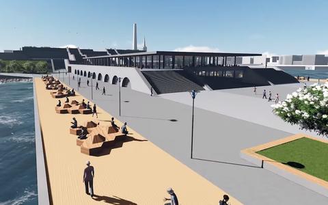 Tallinna linnahalli visualiseering