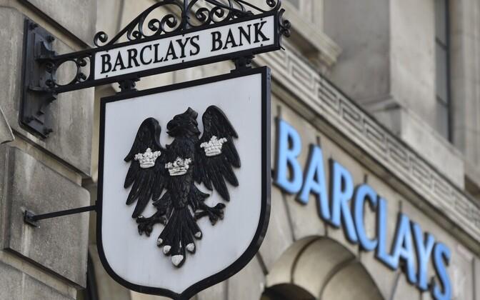 Один из банков Великобритании - Barclays Bank.