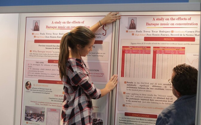 Euroopa noorte teadlaste konkurss (EUCYS) Tallinnas.