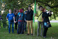 Rohelised osalemas meeleavaldusel Reidi tee vastu 23. septembril. Roheliste lippu hoiab käes erakonna aseesimees Aleksander Laane.