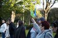 Акция протеста против Рейди теэ в Таллинне 23.09.2017.