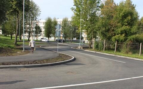 В Нарве открыли новую дорогу.