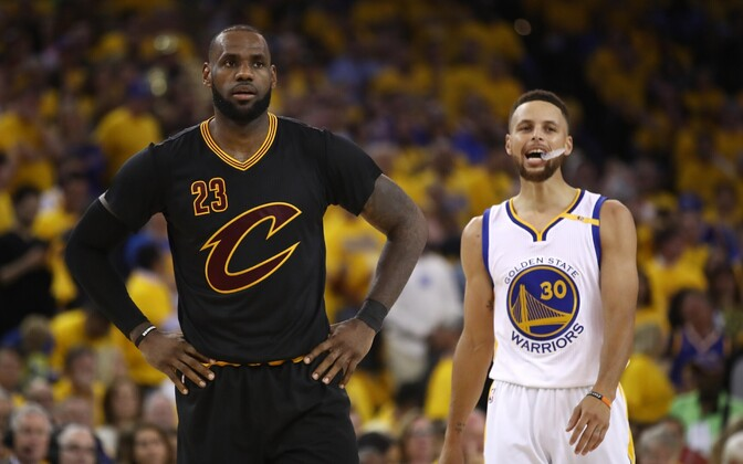 LeBron James ja Stephen Curry