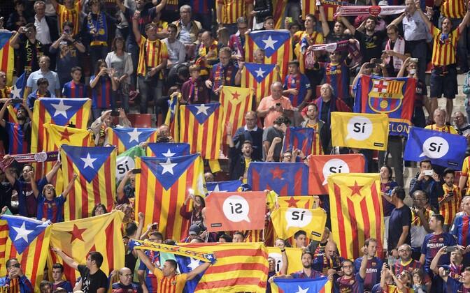 Референдум о независимости Каталонии намечен на 1 октября.