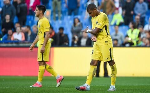 PSG mängijad mängus Montpellier' vastu