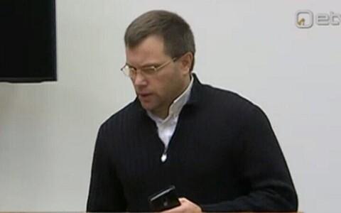 Игорь Горячев в зале суда.