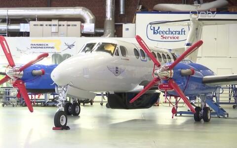 Новый самолет доставят в Эстонию в следующем году.