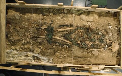 Kukrusele 800 aasta eest maetu uurimine ERMis.