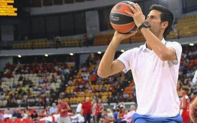 Novak Djokovic Dušan Ivkovici hüvastijätumängul