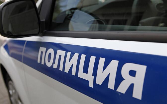 Vene politsei sõiduk.