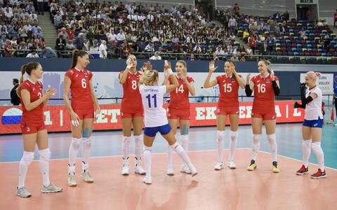 Venemaa naiste võrkpallikoondis
