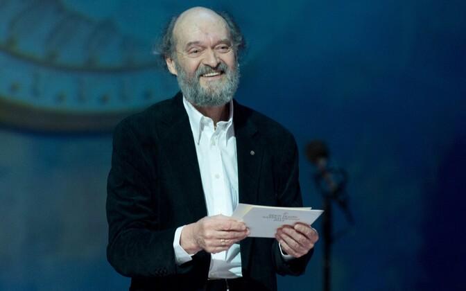 Estonian composer Arvo Pärt.