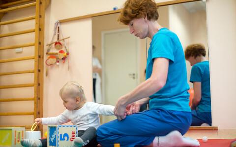 Väikelapse füsioteraapia.