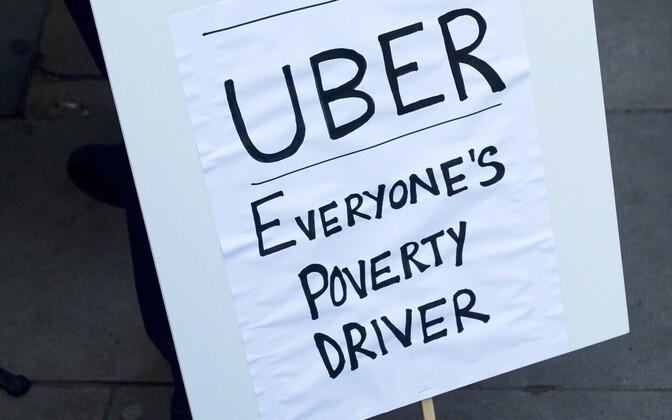 Uberi meeleavaldus Londonis