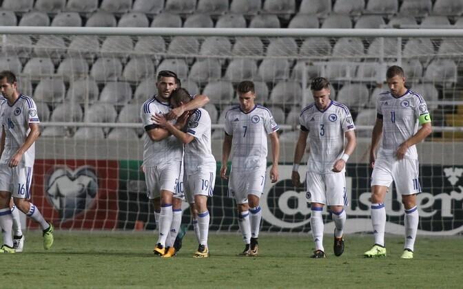 Боснийцы выйдут на матч в роли фаворитов.