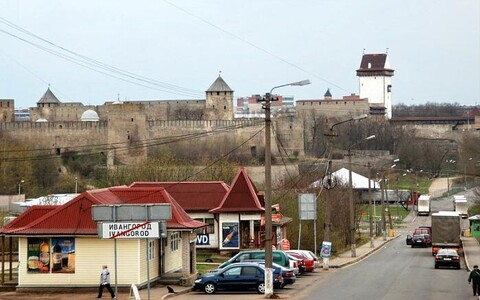 Пунтк пропуска в Ивангороде. Иллюстративное фото.