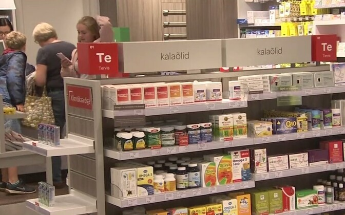 A pharmacy in Estonia (picture is illustrative).