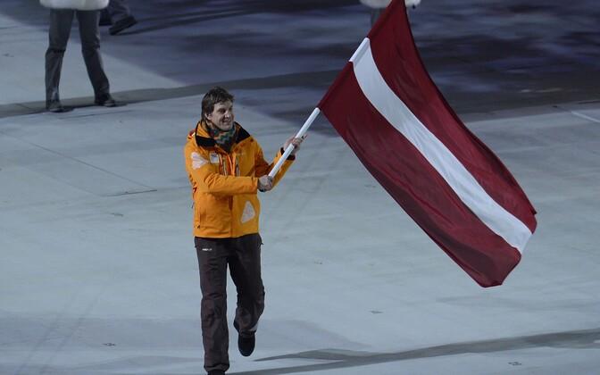 На зимних Олимпийских играх 2014 года Сандис Озолиньш был знаменосцем сборной Латвии