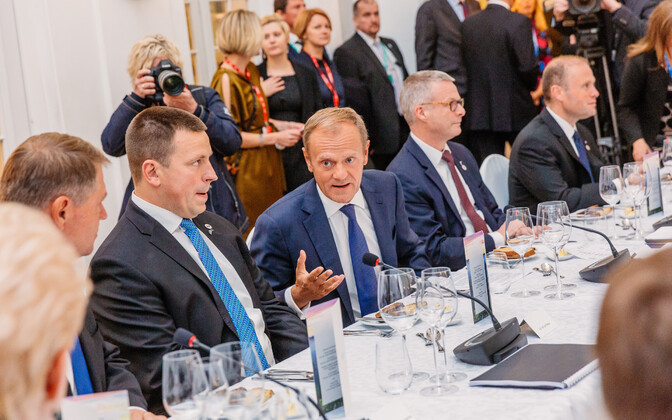 Ужин лидеров ЕС 28 сентября в Таллинне.