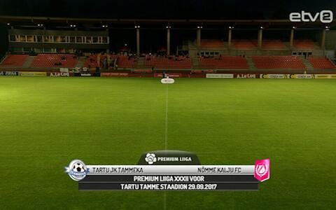 Tartu JK Tammeka - Nõmme Kalju FC