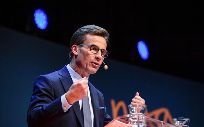 Rootsi Mõõduka Koalitsioonipartei uus juht Ulf Kristersson.