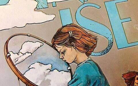 Ülesvõte raamatukaanest. Illustratsioonid Tiina Reinsalu