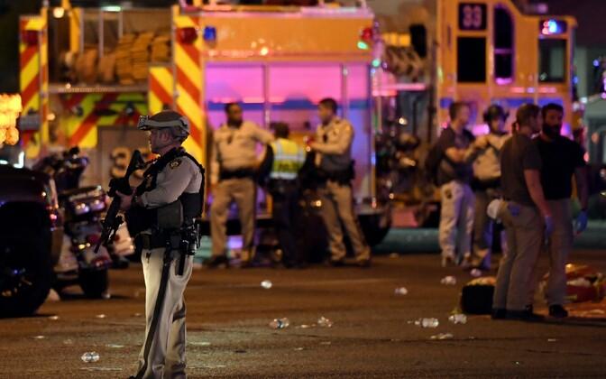 Las Vegases avati kantrifestivalil osalejate pihta tuli