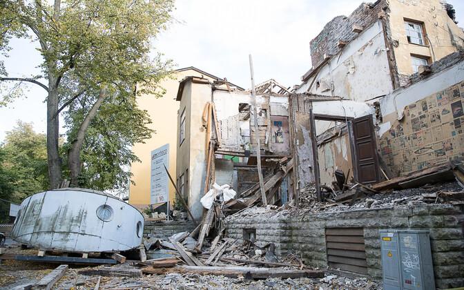 Историческое здание в Кадриорге на Рауа, 22