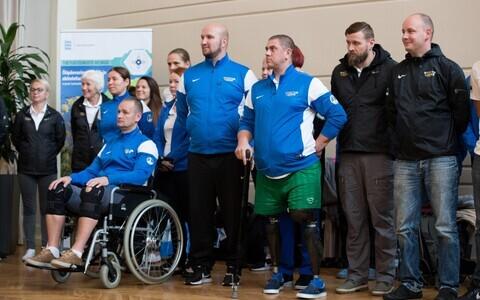 Eesti sõdurid saabusid Invictus Gamesilt tagasi koju