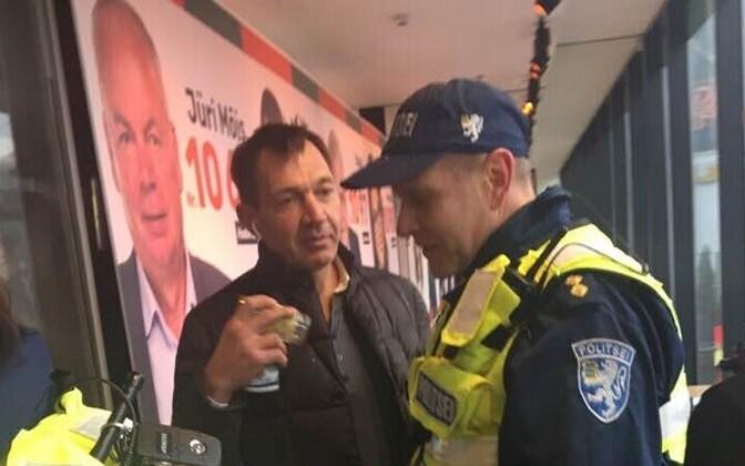 Урмасу Сыырумаа пришлось дать объяснения полицейским.