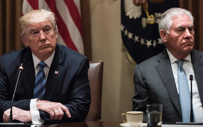 Donald Trump ja Rex Tillerson.