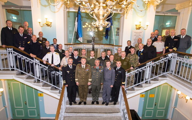 The European Union Military Committee(EUMC) in Estonia on Tuesday. Oct. 3, 2017.
