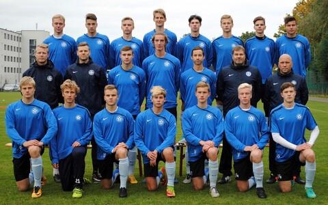 Eesti U-18 jalgpallikoondis