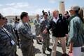 USA president Donald Trump saabus Puerto Ricosse.