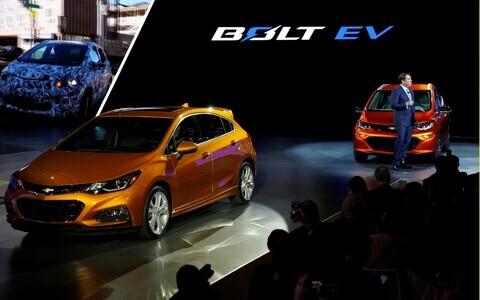 General Motorsi elektriauto Chevrolet Bolt EV.
