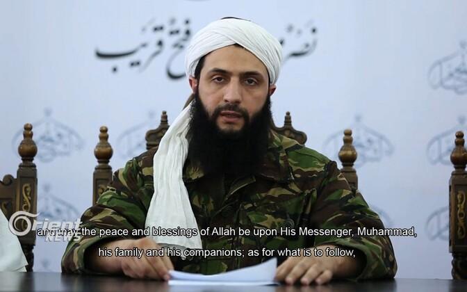 Al-Nusra Rinde juht Abu Mohammed al-Jolani.