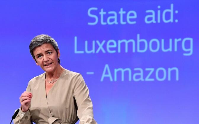 Еврокомиссар по вопросам конкуренции Маргрете Вестагер.