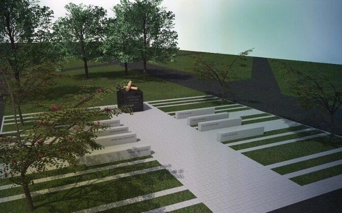 В Нарве откроют мемориал в память о погибших в Афганистане.