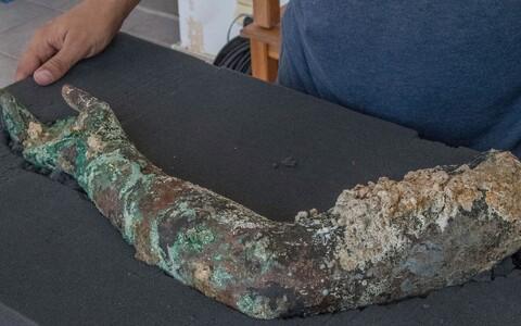 Selle aasta septembris leitud pronkskäsi.