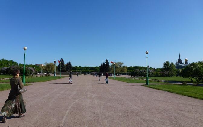 Марсово поле в Петербурге. Иллюстративная фотография.
