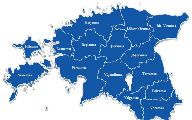 Eesti maakonnad