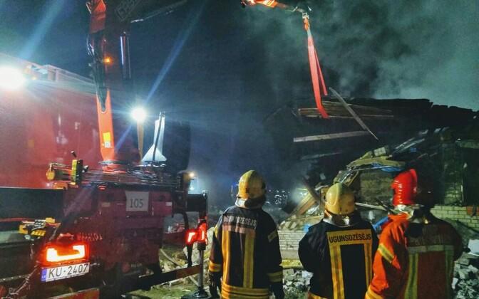 ВЛатвии при взрыве жилого дома погибли пятеро