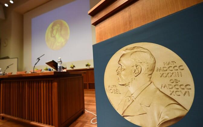 Nobeli preemia.