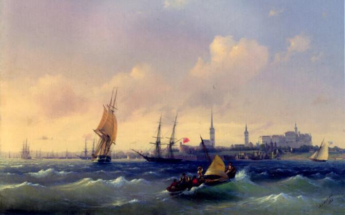 Aivazovski maal