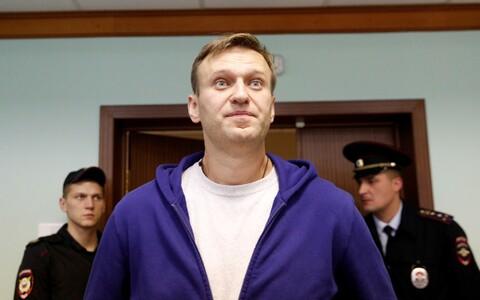 Navalnõi 6. oktoobril Moskva kohtus.